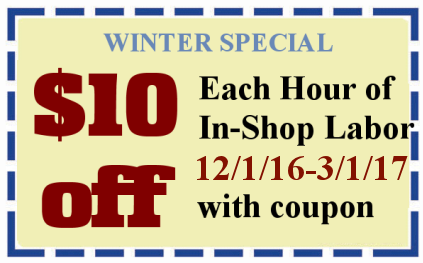 Winter Coupon $10 Off